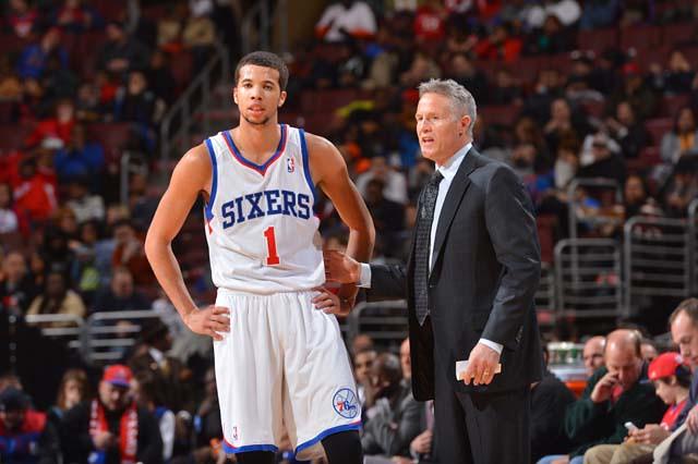 O técnico do Philadelphia 76ers, Brett Brown, foi demitido. 3