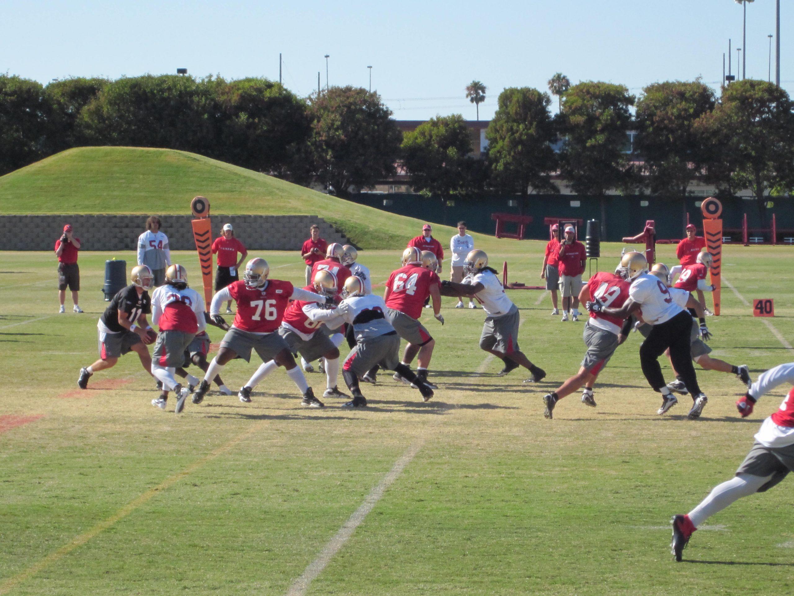 O treinamento da NFL está fazendo as equipes perceberem a lesão de Rick 2