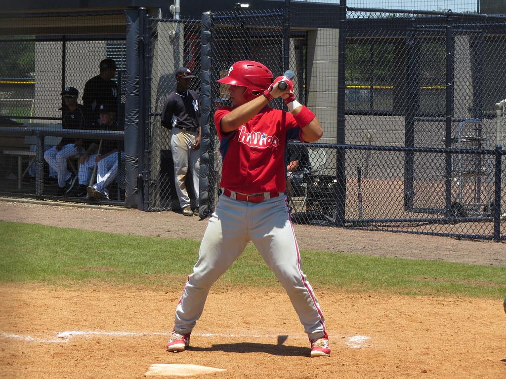 Rafael Marchan, de Phillies, atinge a maioria dos home runs 2