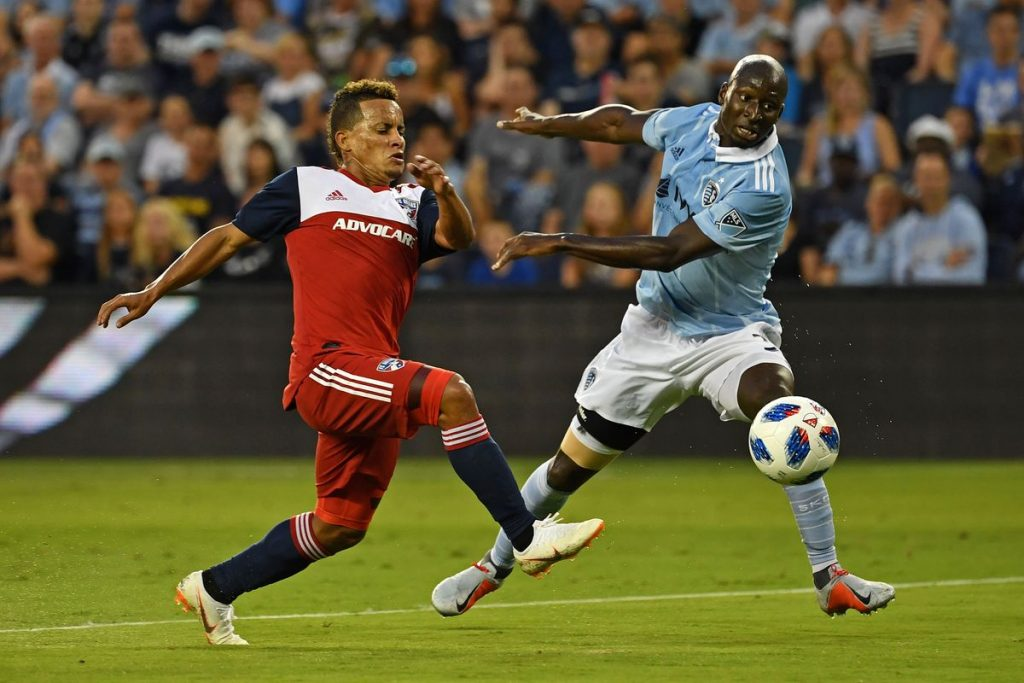 Kansas City e FC Dallas ficam chateados. 2