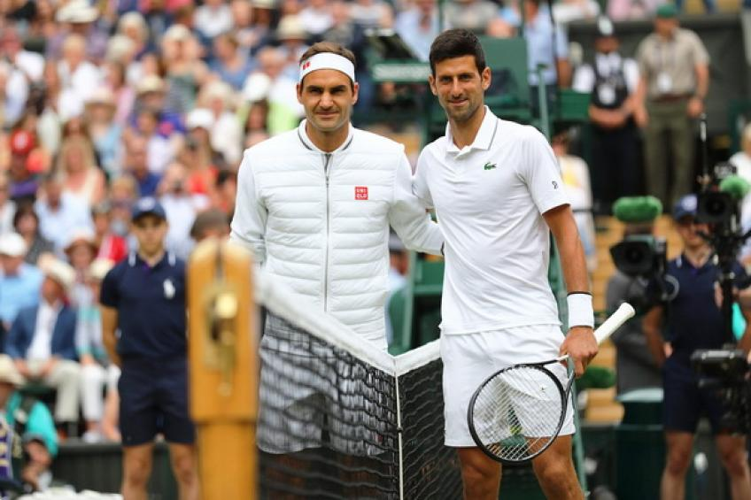 Roger Federer VS Novak Djokovic. 1